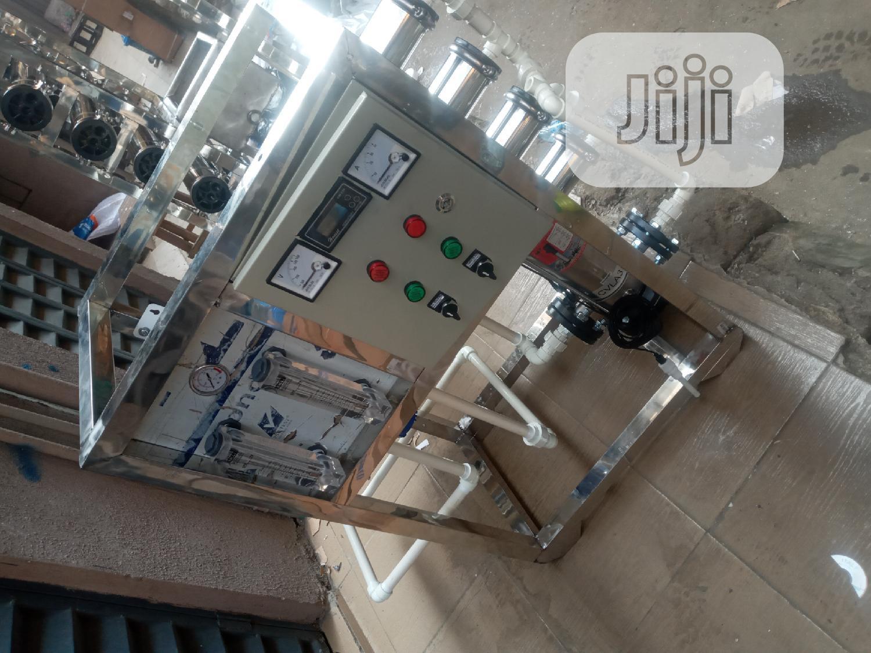 4 Membrane R O Water Treatment Mac1000 Liters Per Hour Tank