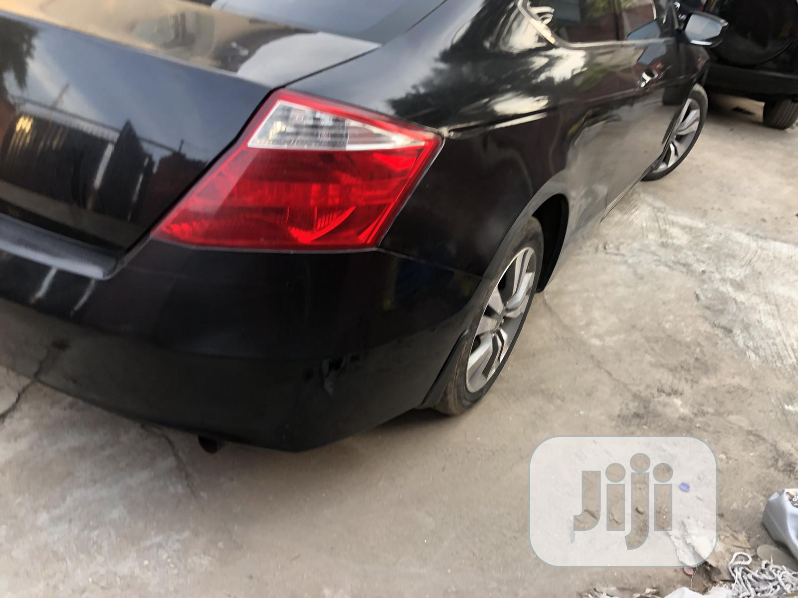 Honda Accord 2008 2.4 EX-L Automatic Black   Cars for sale in Isolo, Lagos State, Nigeria