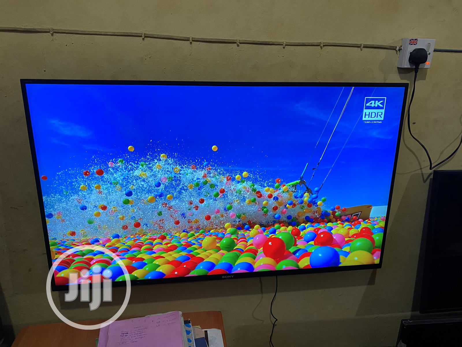 Sony Bravia KD43XH) LED HDR 4K Ultra HD 43lnch | TV & DVD Equipment for sale in Lekki, Lagos State, Nigeria