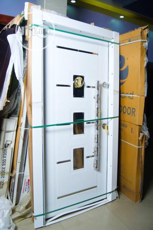 Single White Turkey Classic Entrance And Internal Door | Doors for sale in Abuja (FCT) State, Dei-Dei