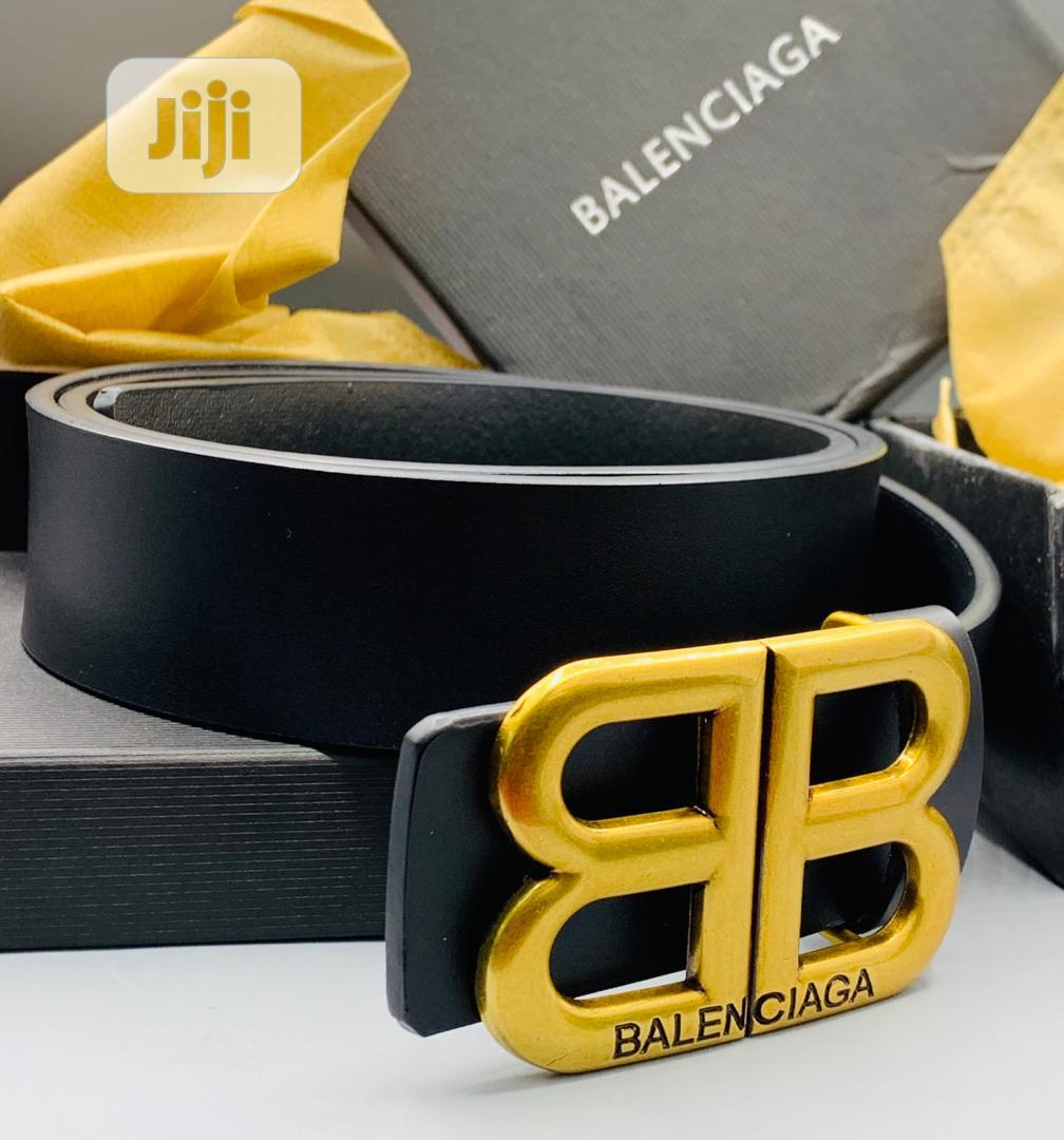 Balenciaga Leather Belt for Men's