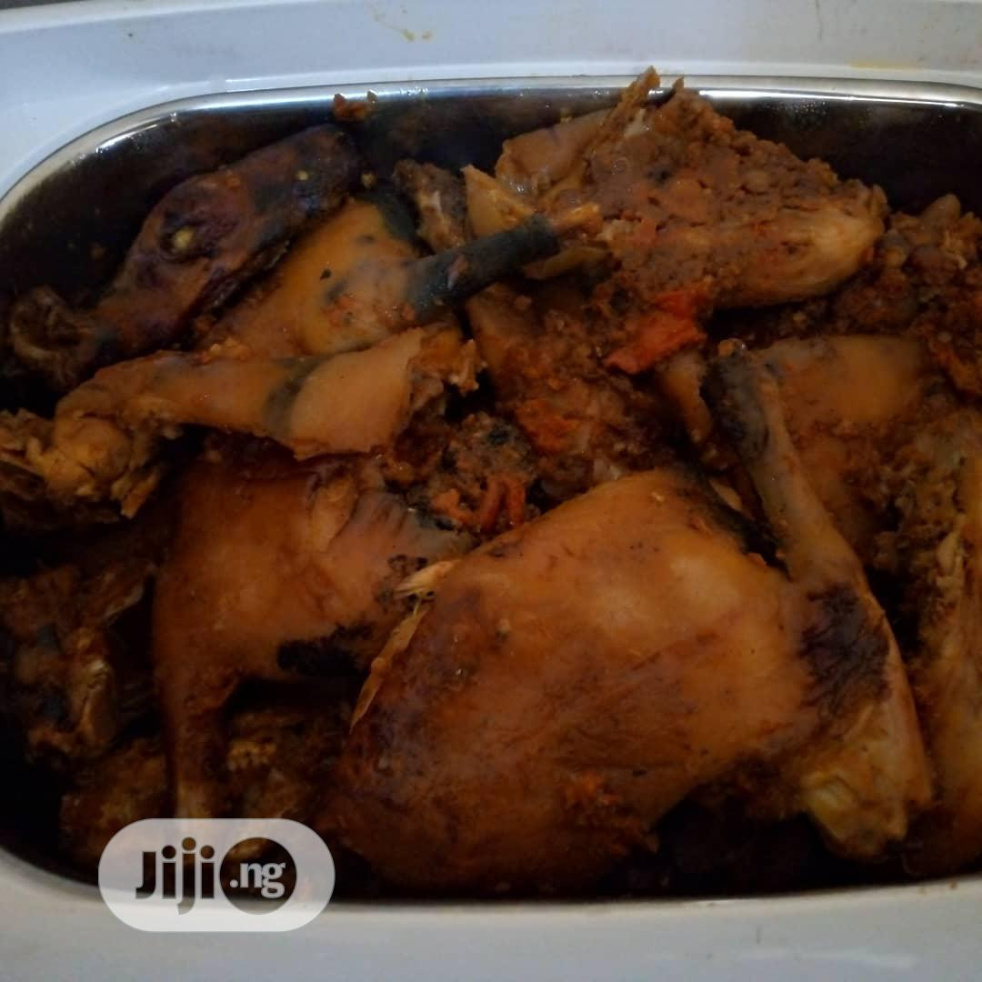 GOE Animals - Well Prepared Rabbit Meat With Sauce, For Sell   Meals & Drinks for sale in Akure, Ondo State, Nigeria