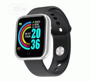Y68 Waterproof Smart Watch Heartrate Monitor/Fitness Tracker | Smart Watches & Trackers for sale in Lagos State, Ikeja