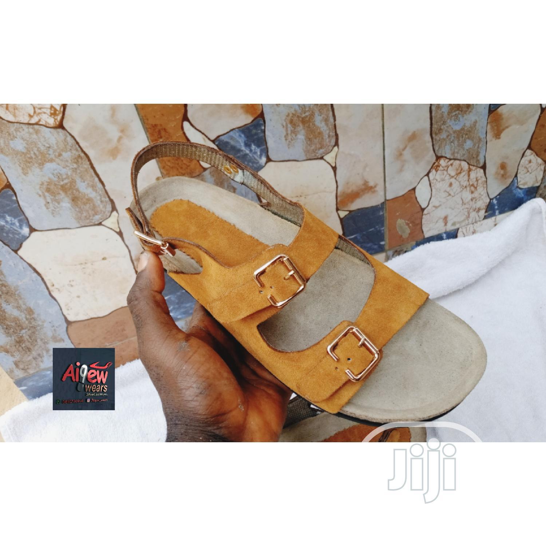 Suede Sandal (Birkenstock Black)