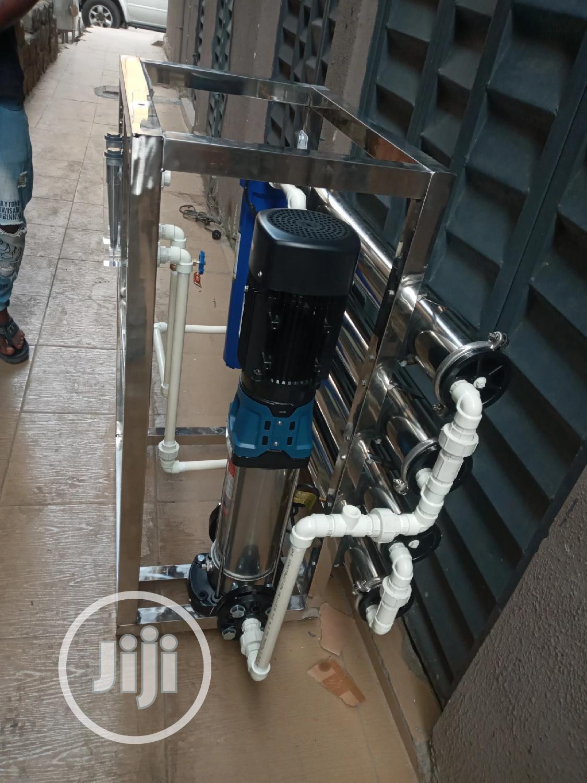 4 Membrane R O Water Treatment Mac1000 Liters Per Hour Tank   Manufacturing Equipment for sale in Orile, Lagos State, Nigeria