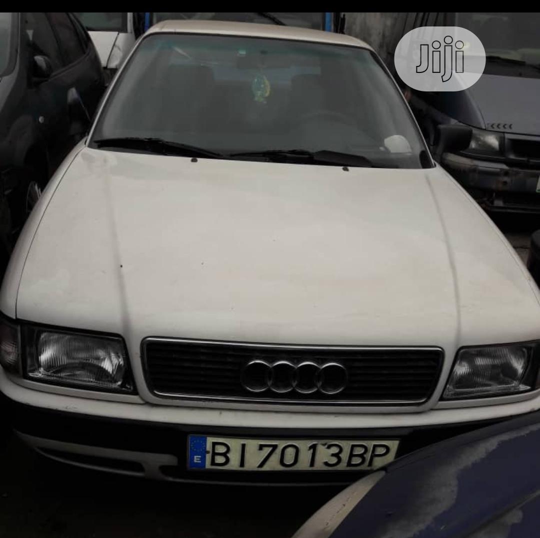 Audi 80 1991 2.0 E White