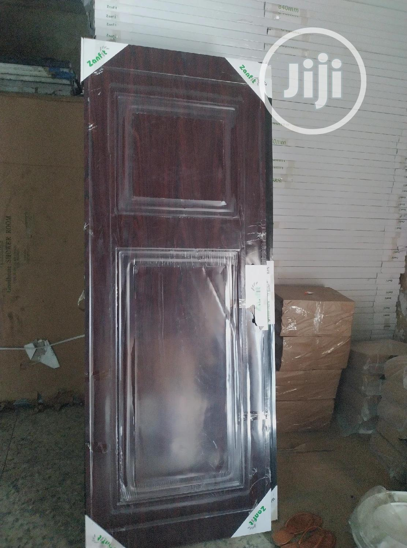 Quality Panel Door For Room And Toilet Doors   Doors for sale in Amuwo-Odofin, Lagos State, Nigeria