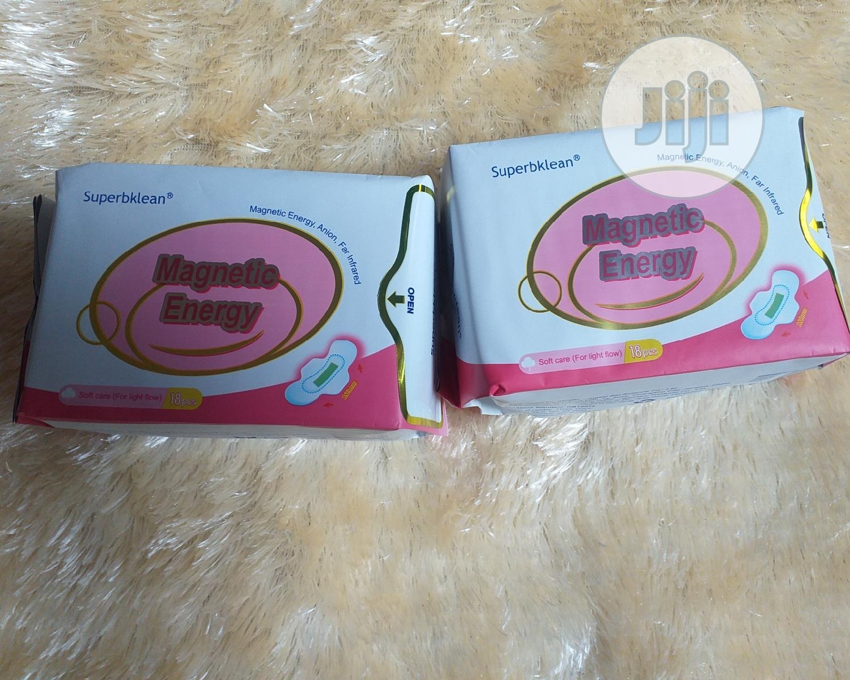 Longrich Superbklean Magnetic Energy Sanitary Pad (Lightflow | Bath & Body for sale in Ifako-Ijaiye, Lagos State, Nigeria