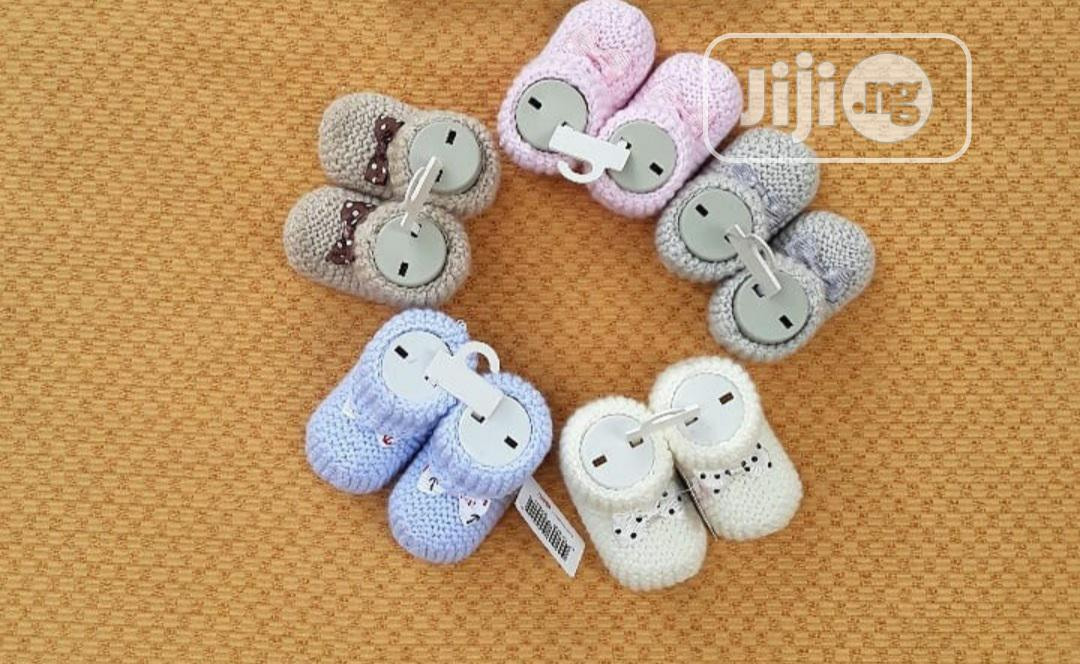 Knitted Booties | Children's Shoes for sale in Ikoyi, Lagos State, Nigeria