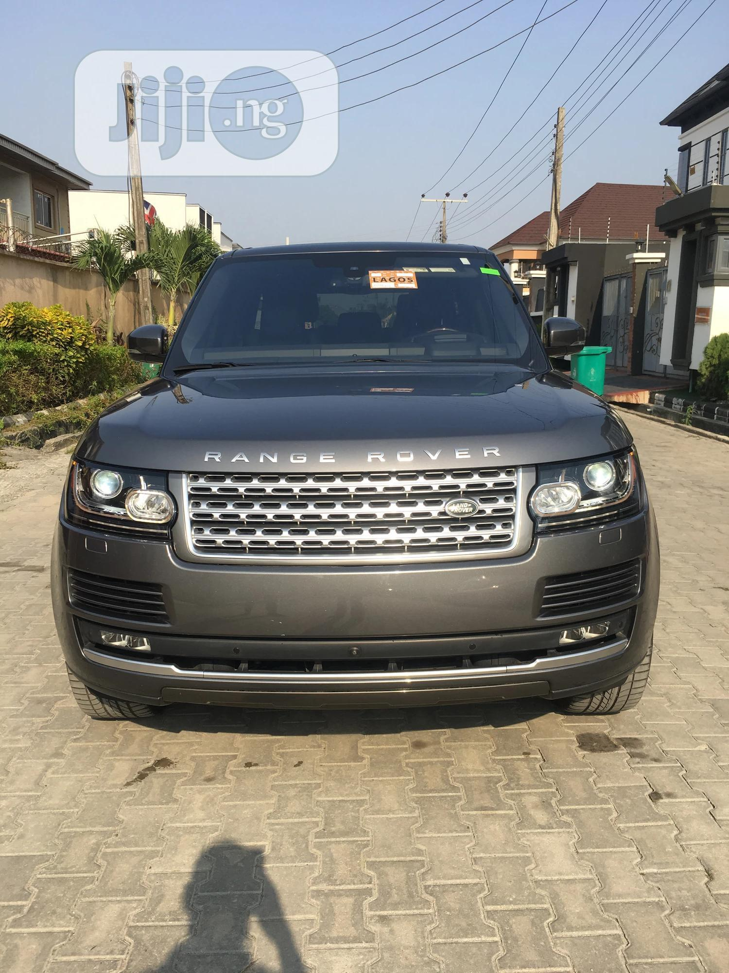 Land Rover Range Rover Vogue 2016 Gray   Cars for sale in Lekki, Lagos State, Nigeria