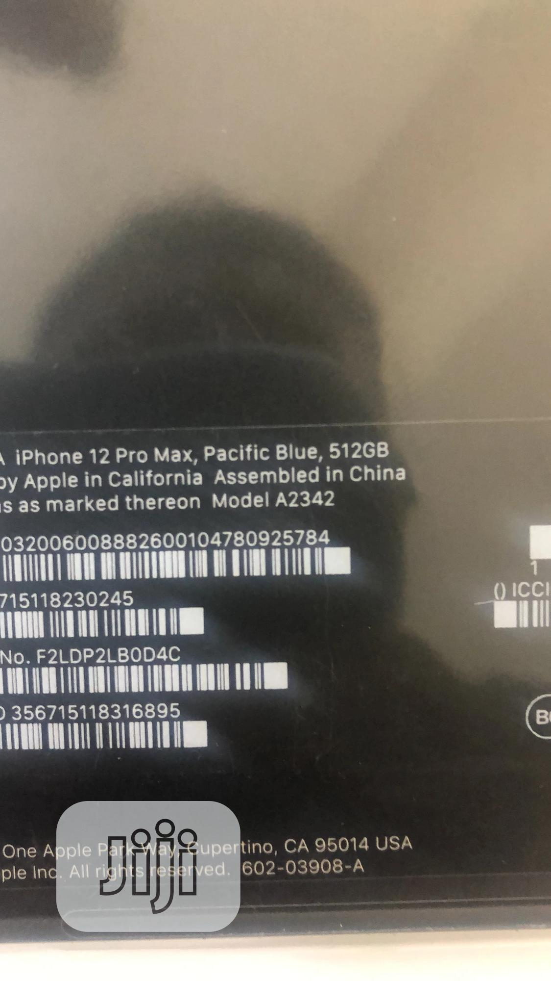 New Apple iPhone 12 Pro Max 512GB Black