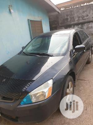 Honda Accord 2004 2.4 Type S Automatic Black | Cars for sale in Lagos State, Agege