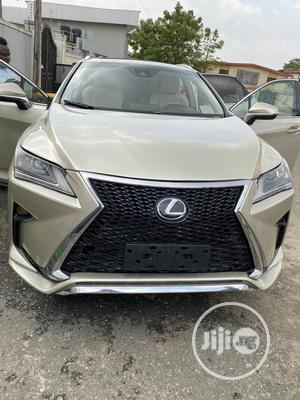 Lexus RX 2017 350 FWD Gold   Cars for sale in Lagos State, Ikeja