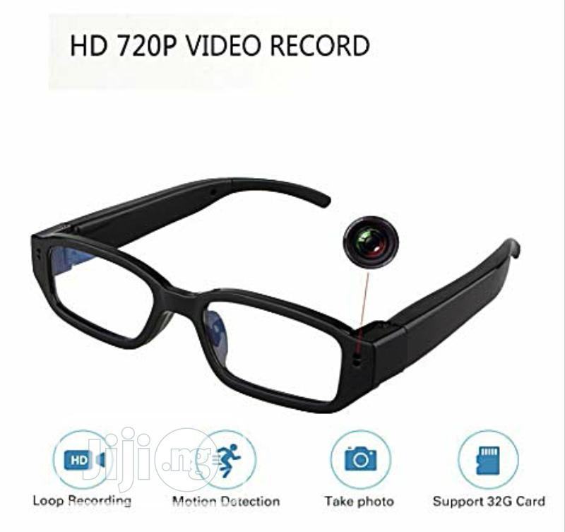 720p Video Recording Camera Spy Eye Glass