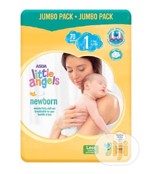 Asda Little Angel Diaper (Jumbo Size 1 & 2)