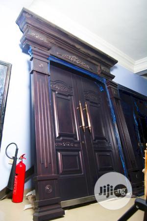 1.5 X 2.4 Heavy Copper Entrance Door   Doors for sale in Abuja (FCT) State, Dei-Dei