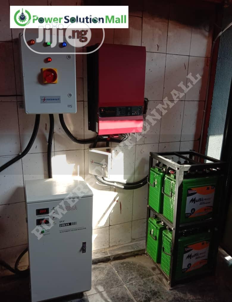 Complete 5kva Top Quality Solar System Installation