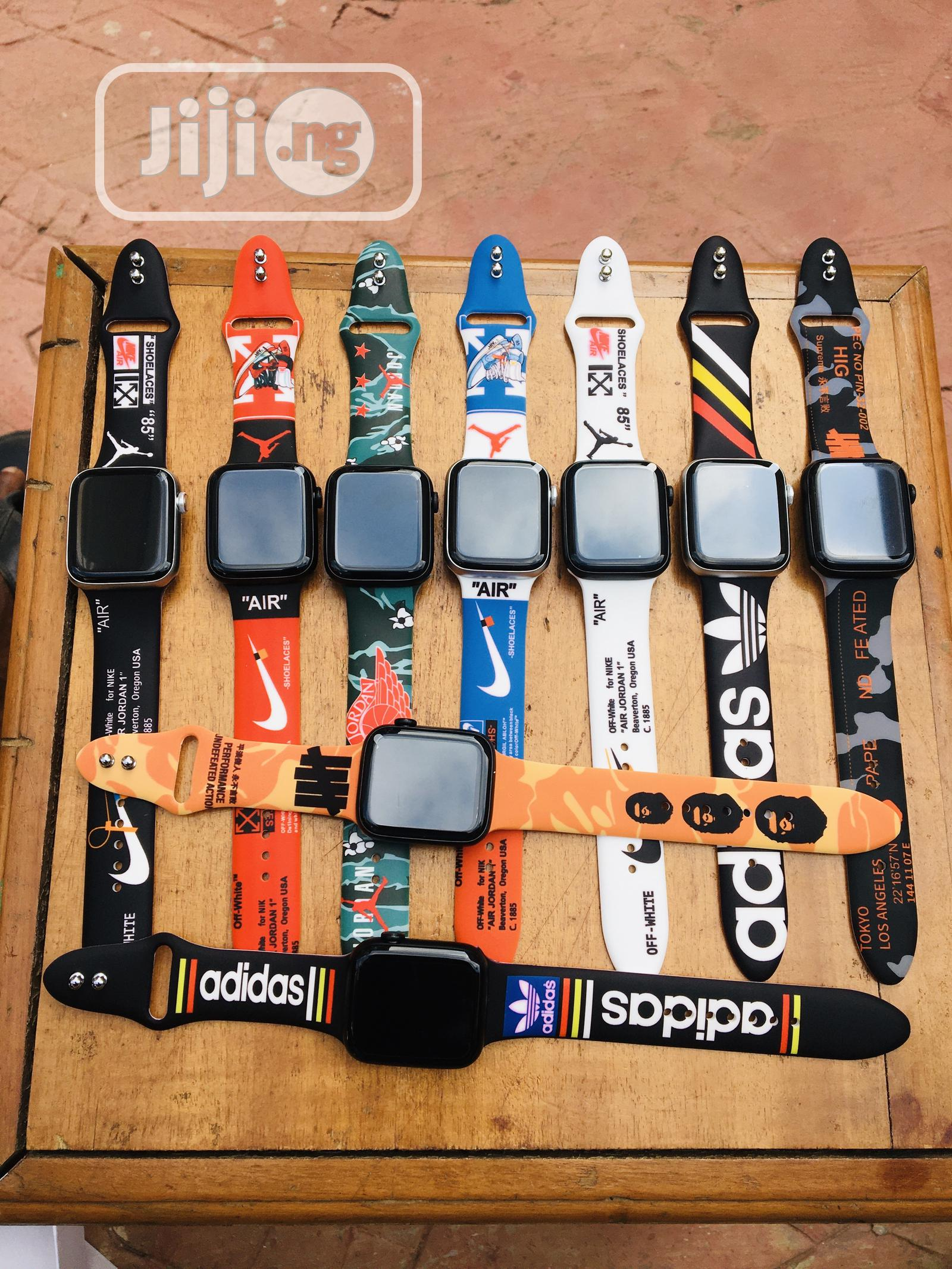 Designer Straps for Apple Watch | Smart Watches & Trackers for sale in Lekki, Lagos State, Nigeria
