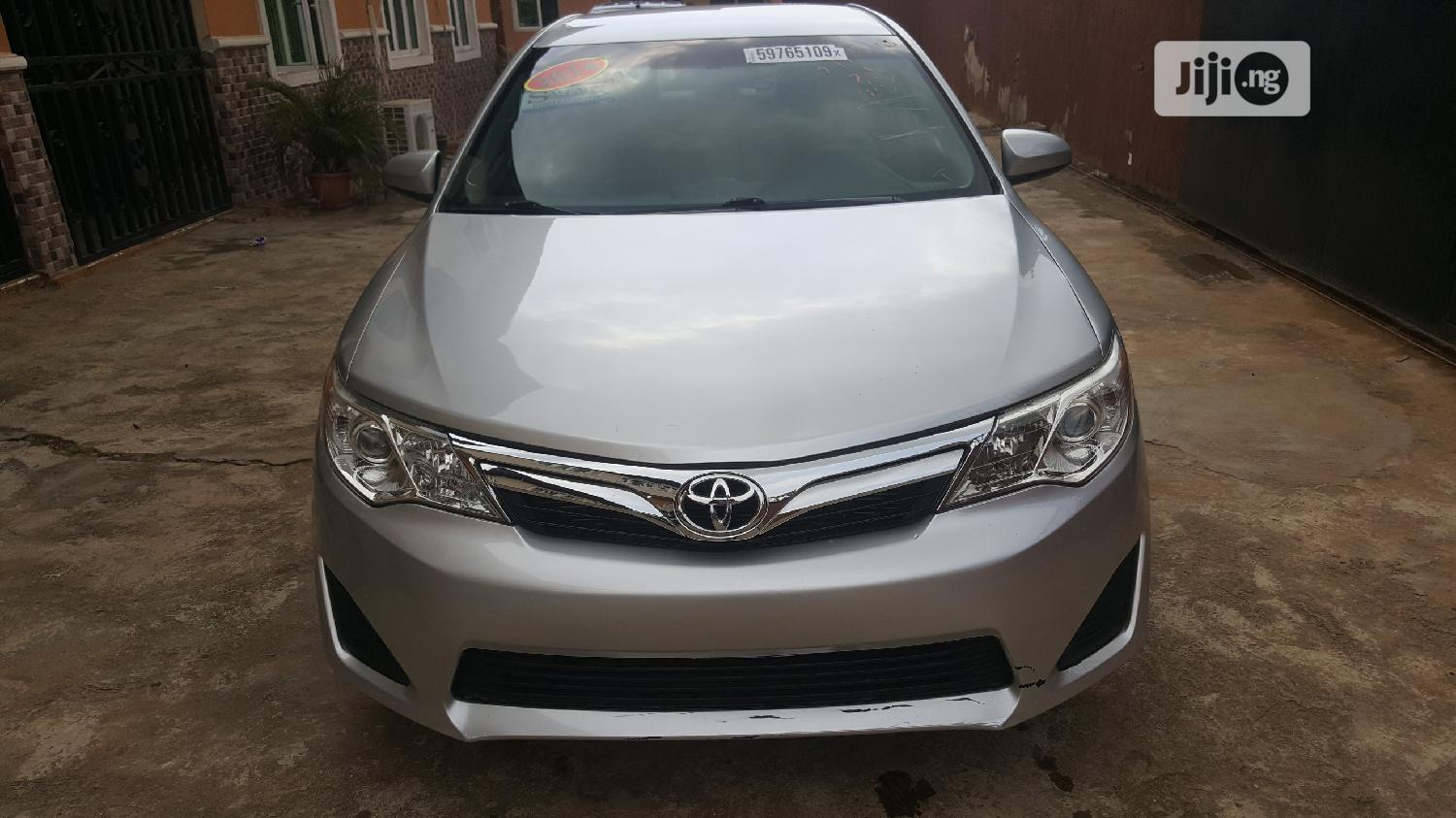 Toyota Camry 2014 Silver