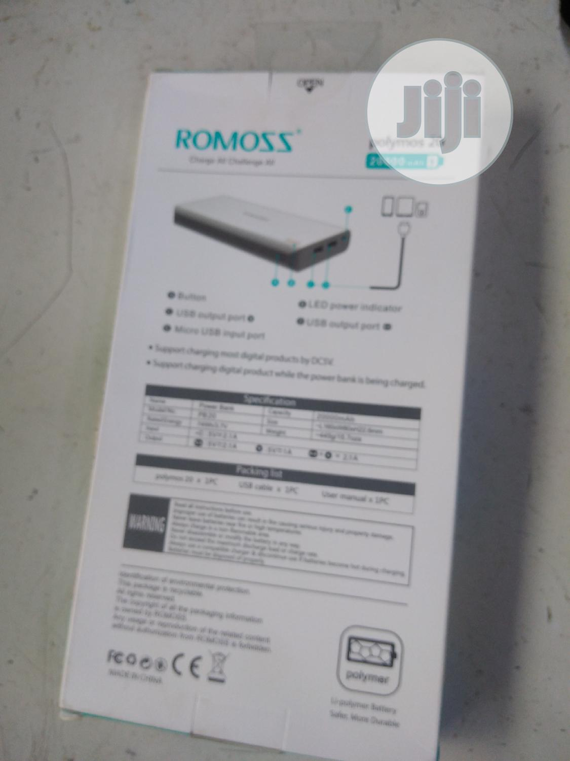 Archive: Romoss Power Bank
