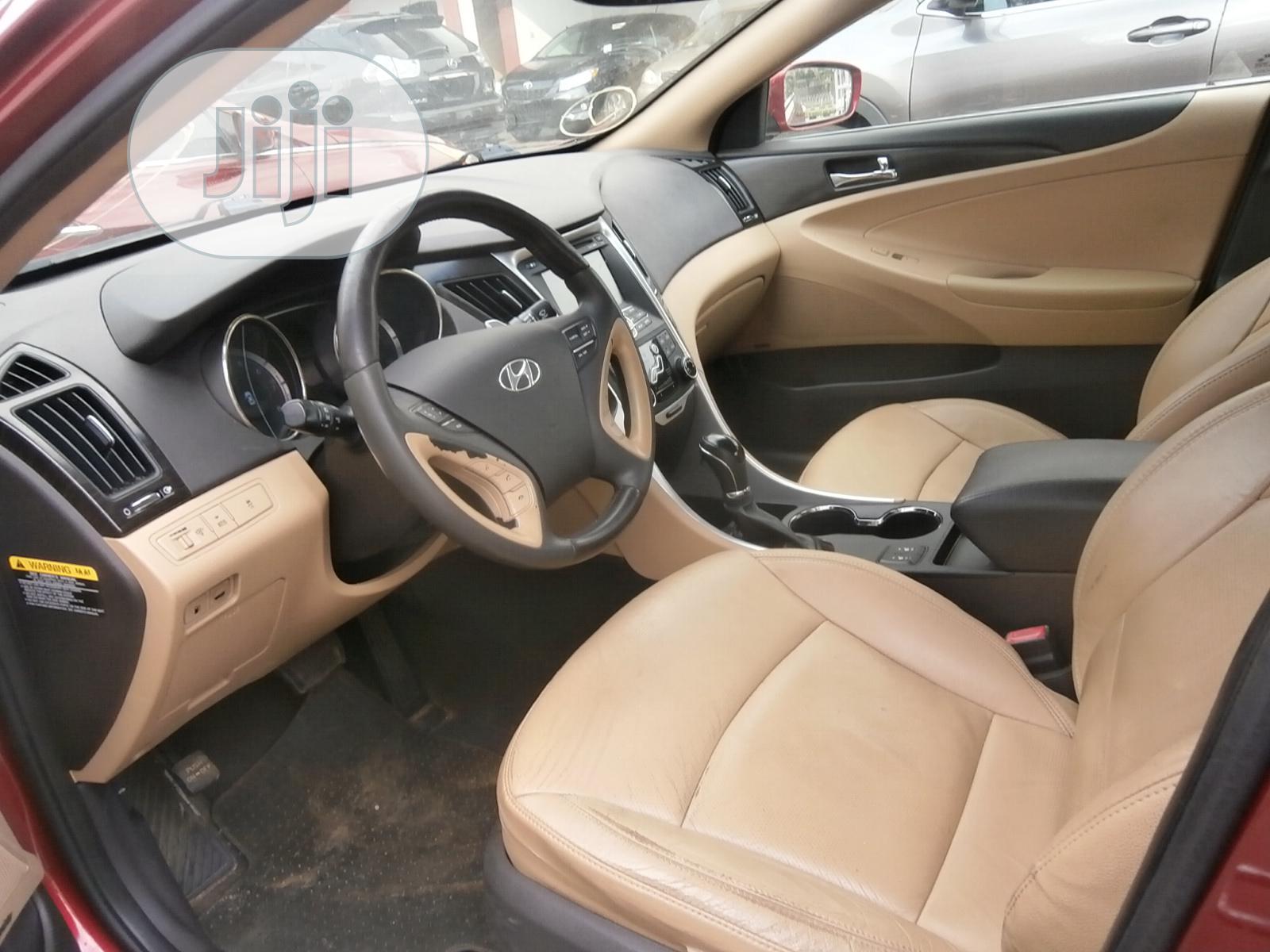 Hyundai Sonata 2011 Red   Cars for sale in Ikeja, Lagos State, Nigeria