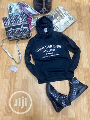 High Quality Black & Blue Dior Hoodies | Clothing for sale in Lagos State, Magodo