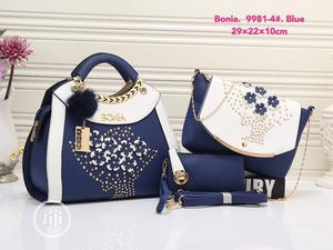 Blue Female Quality Leather Handbag | Bags for sale in Lagos State, Isolo