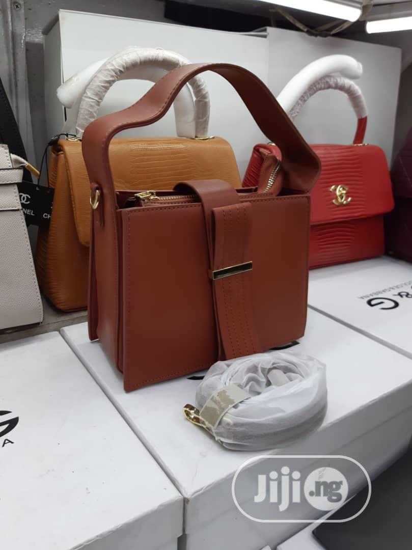 New Turkey Brown Ladies Handbag