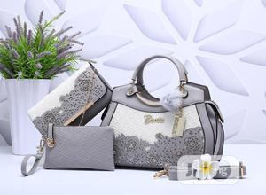 New Classic Female Turkey Leather Handbag With Purse   Bags for sale in Lagos State, Isolo