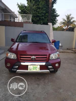 Toyota Highlander 2006 Red   Cars for sale in Lagos State, Yaba