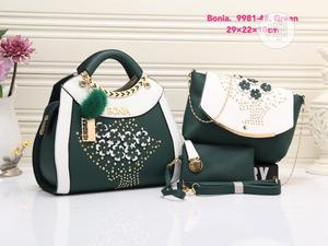 New Ladies Black Leather Turkey Handbag | Bags for sale in Lagos State, Isolo