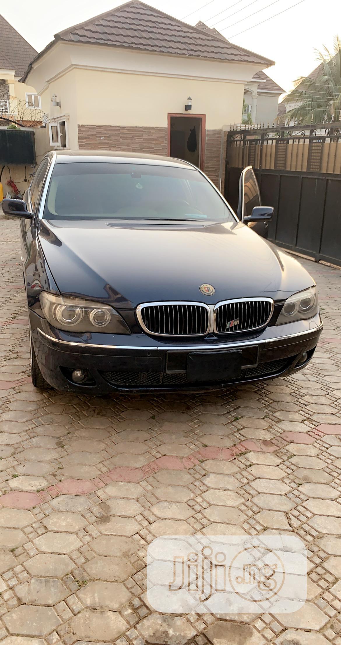 BMW 7 Series 2004 Blue