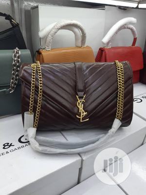 YSL Ladies Leather Handbag | Bags for sale in Lagos State, Isolo