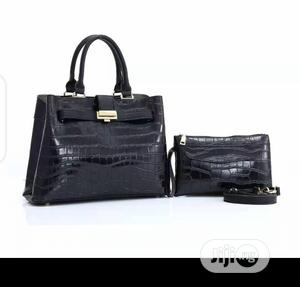 New Ladies Leather Black Handbag | Bags for sale in Lagos State, Isolo