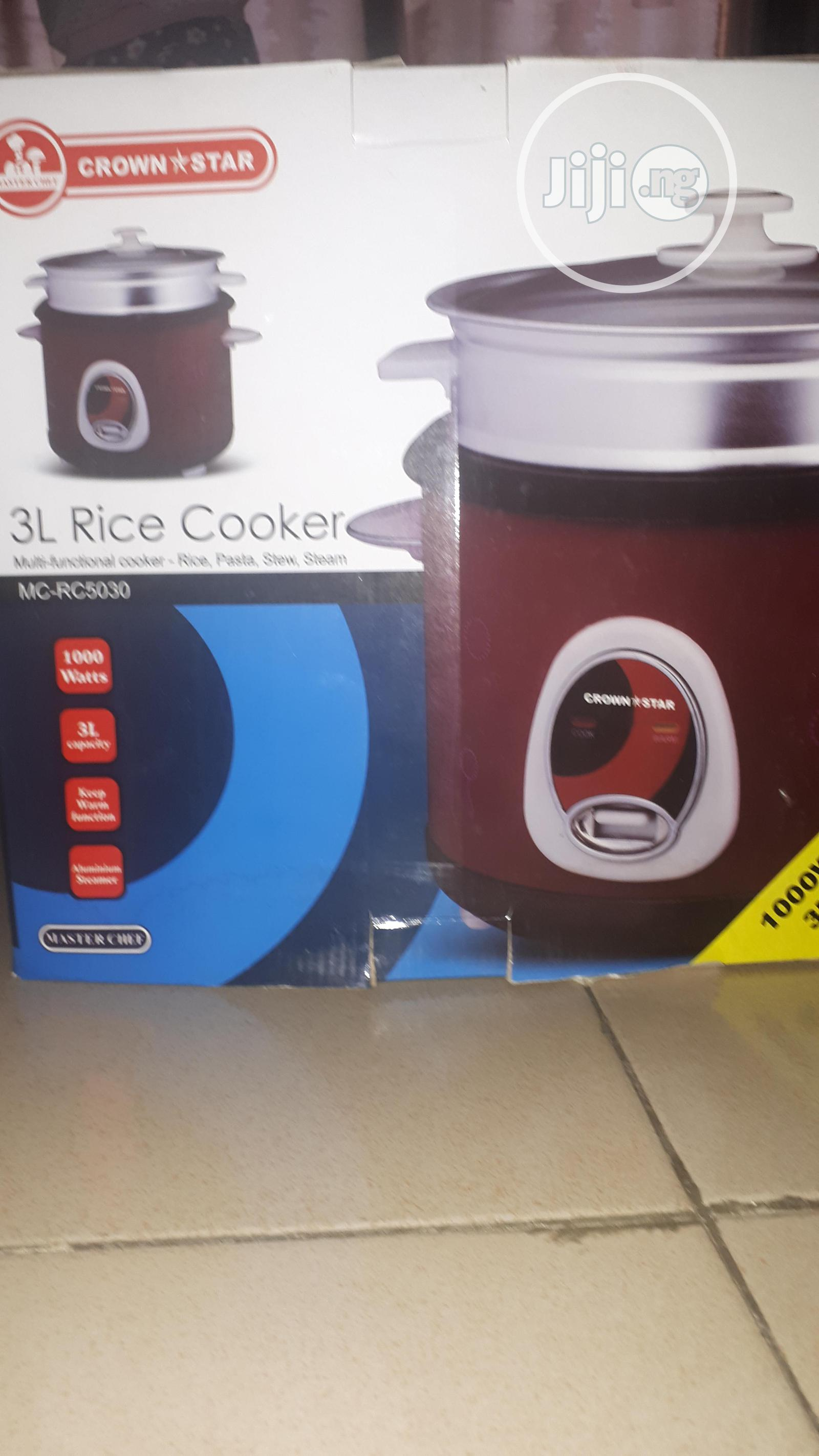 Crown Star Rice Cooker