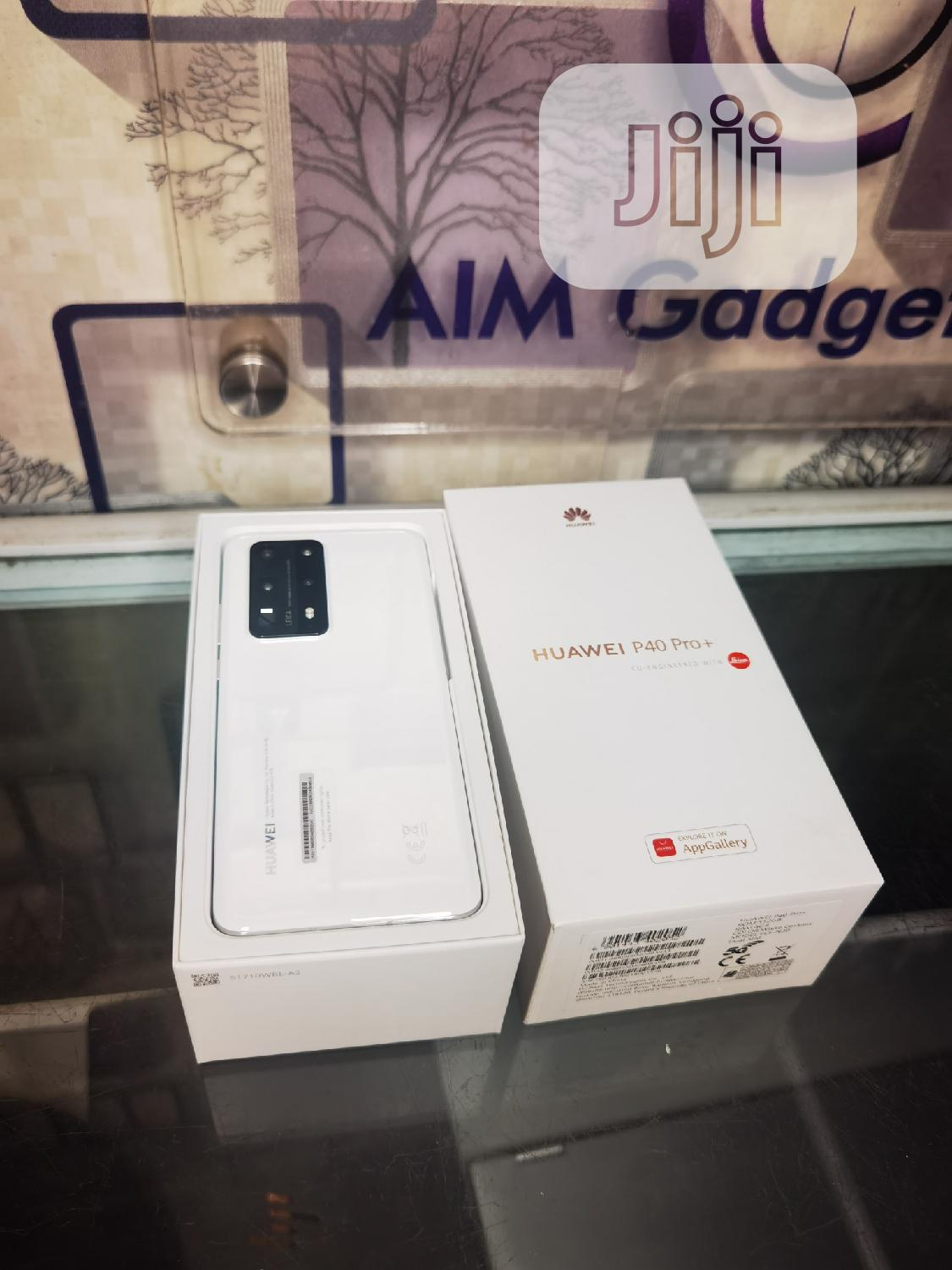 New Huawei P40 Pro+ 512GB White | Mobile Phones for sale in Ikeja, Lagos State, Nigeria