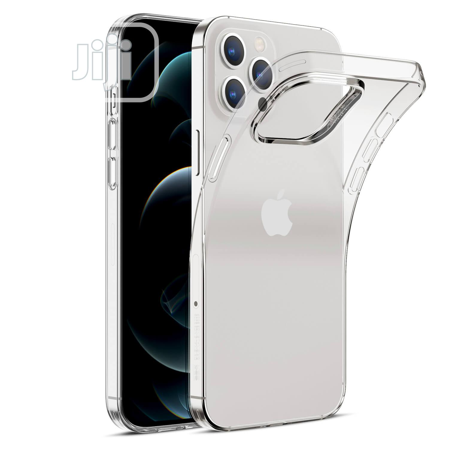 Clear Case For iPhone 12 Pro Max   Accessories for Mobile Phones & Tablets for sale in Ikeja, Lagos State, Nigeria