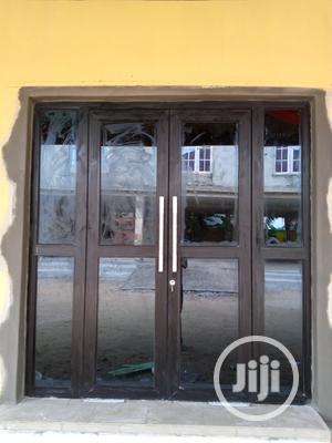 Aluminum Entance Swing Door | Doors for sale in Lagos State, Ipaja