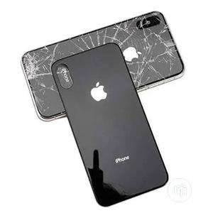 5D Full Glue Back Glass Protector For iPhone X   Accessories for Mobile Phones & Tablets for sale in Lagos State, Ikeja