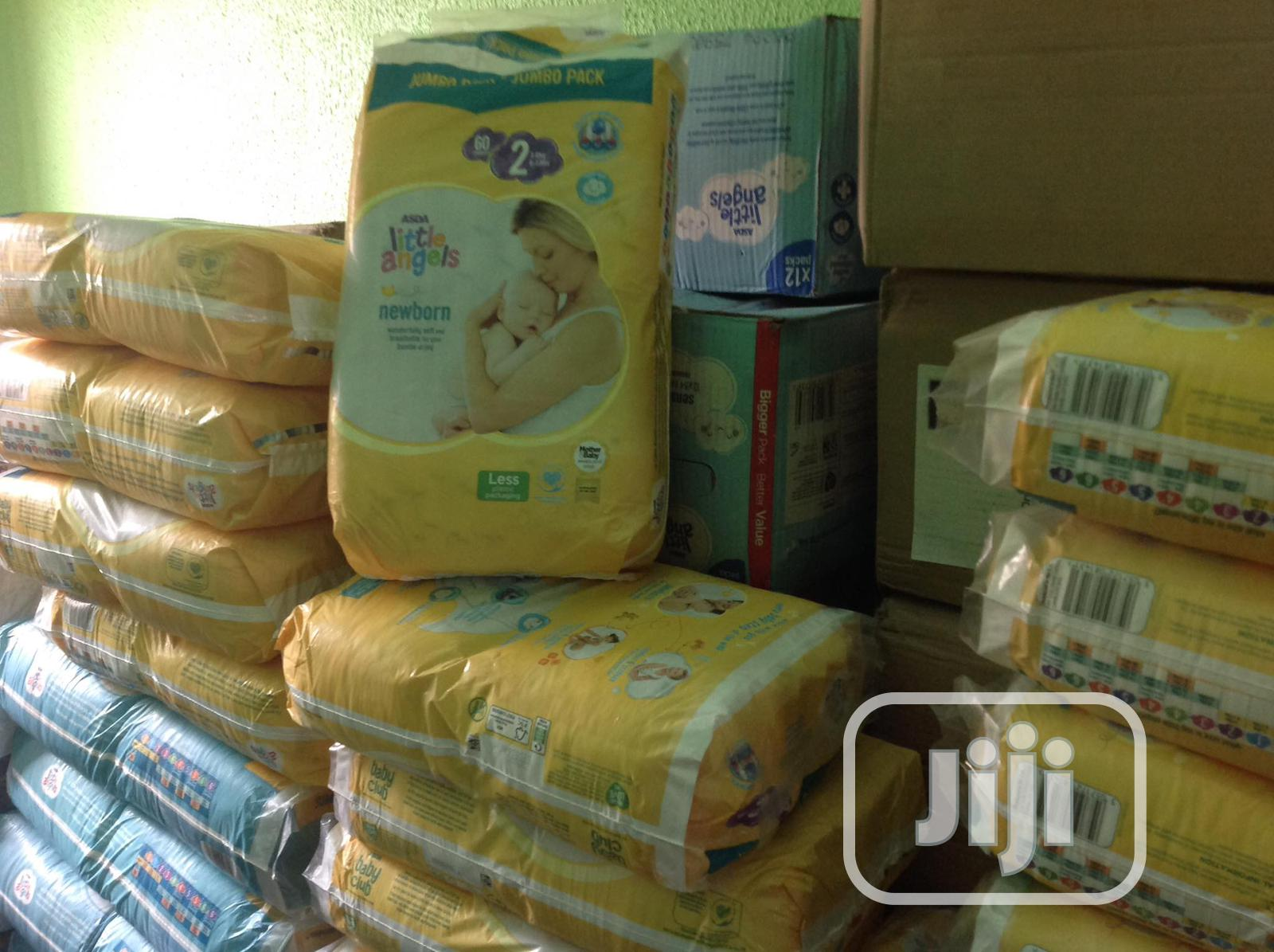 Asda Little Angel Diaper (Jumbo Size 1 & 2) | Baby & Child Care for sale in Alimosho, Lagos State, Nigeria