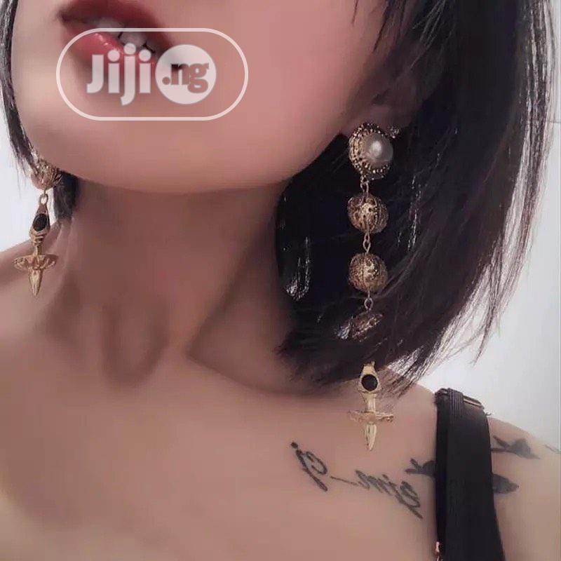 Stone Fancy Earrings