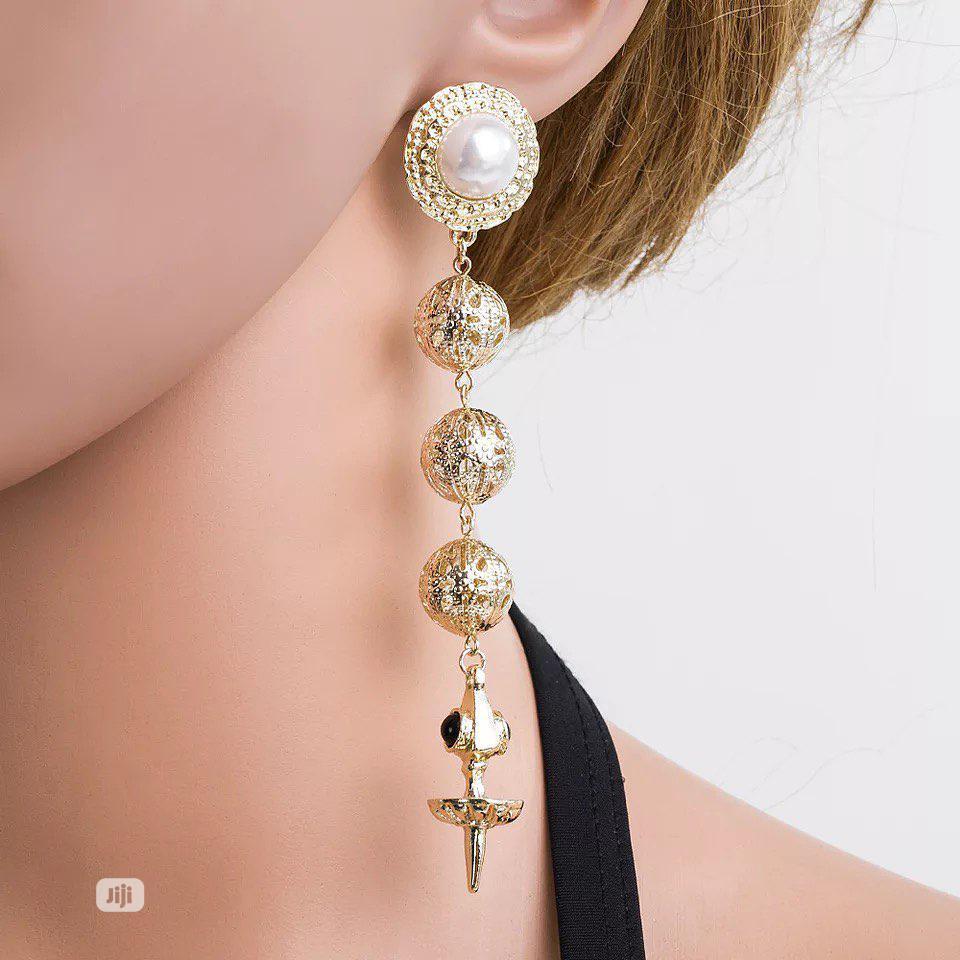 Stone Fancy Earrings | Jewelry for sale in Ikeja, Lagos State, Nigeria