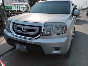 Honda Pilot 2008 EX-L 4x4 (3.5L 6cyl 5A) Silver | Cars for sale in Lagos State, Amuwo-Odofin