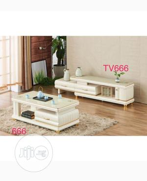 Complete Television Shelve and Center Table With Drawer   Furniture for sale in Abuja (FCT) State, Asokoro