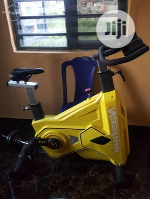 Commercial Spinning Bike ( Max User Weight 180)   Sports Equipment for sale in Lagos State, Surulere