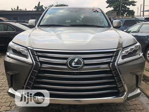 Lexus LX 2017 570 Base Gray | Cars for sale in Lagos State, Ikeja