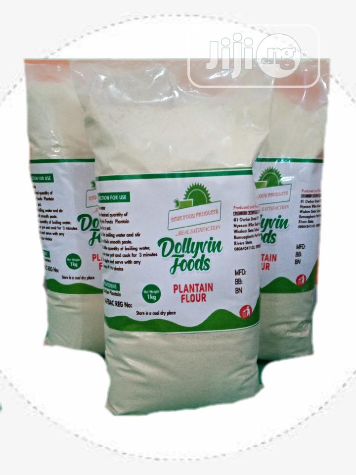 100% Plantain Flour