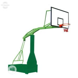 Basketball Stand (Fibre Glass Backboard   Sports Equipment for sale in Lagos State, Surulere