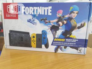 Nintendo Switch Console Fortnite Special Edition Game | Video Game Consoles for sale in Lagos State, Ikeja