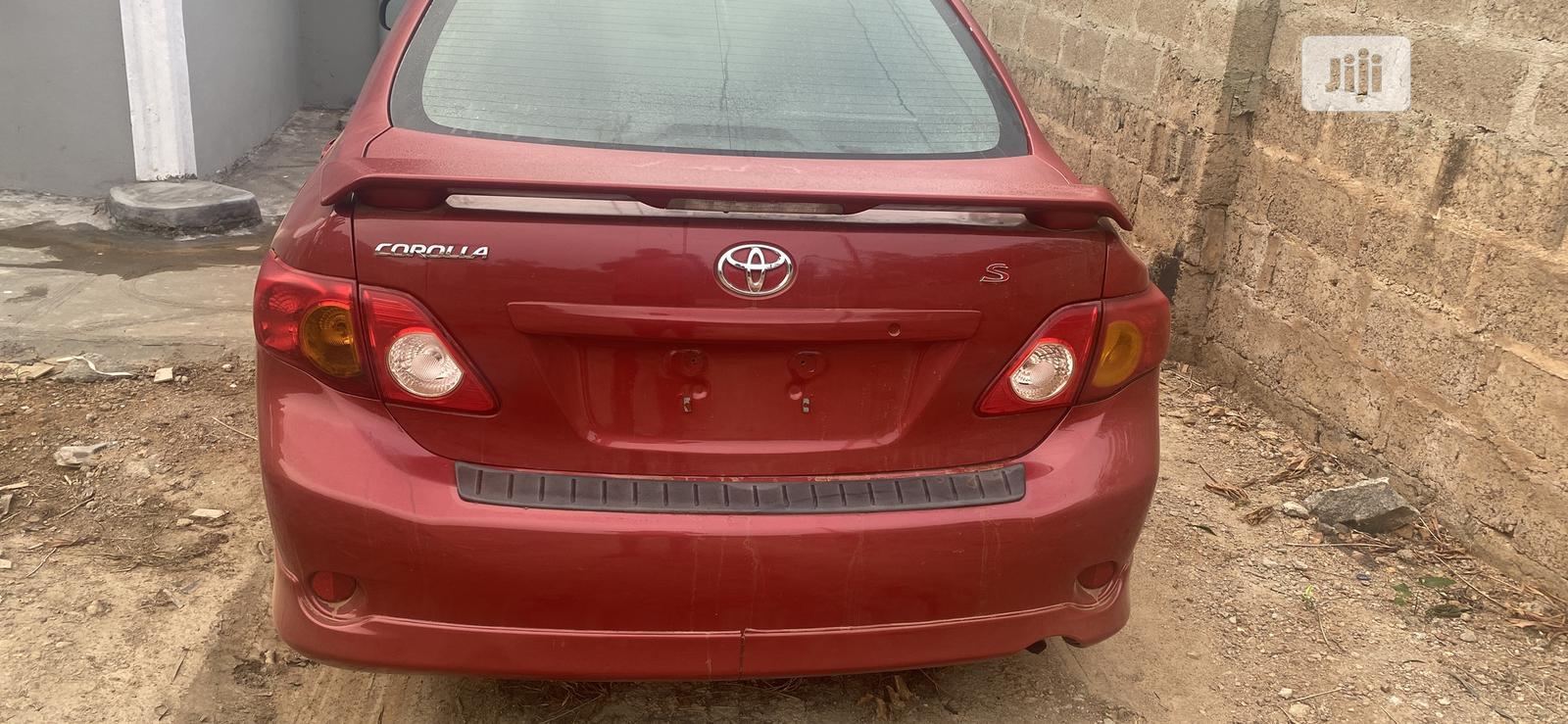 Toyota Corolla 2010 Red | Cars for sale in Ife, Osun State, Nigeria